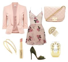 """blush"" by hilorine on Polyvore featuring Forever 21, Lipsy, Napoleon Perdis, Marc Jacobs, Victoria's Secret and Miu Miu"