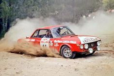The Lancia Fulvia 1.6 Coupé HF of Mauro Pregliasco and Angelo Garzoglio at the Rally San Remo in 1973.