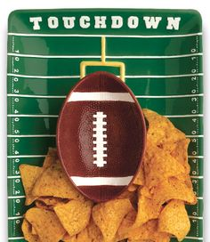 SuperBowl Party Platter. Bring it to your 2013 celebration!