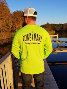 Lineman long sleeve shirt Source by thelinewife Lineman Love, Lineman Gifts, Vinyl Shirts, Work Wear, Long Sleeve Shirts, Cute Outfits, Cricket, Moustaches, Man Stuff