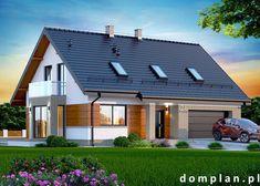 Projekt domu: Darlena z wykuszem