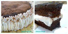 de sucre i sal: TARTA HELADA DE CHOCOLATE Y VAINILLA