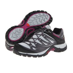 Salomon Women`s Ellipse GTX Hiking Shoe/ trail running shoe ~ My new shoes that I love! They are so comfortable  love the ankle support  need it after a bad fall a few weeks ago.