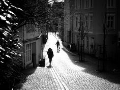 https://flic.kr/p/EsKLox | Winter sun | In the old part of Bergen, Norway.  (Explore)