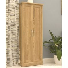 Mobel Oak DVD Cupboard