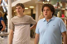 Jonah Hill and Michael Cera Have 'Superbad' Reunion in NYC Micheal Cera, Loretta Devine, Jonah Hill, Superbad, My Heart Hurts, Amy Poehler, New Pant, Romantic Movies
