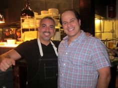 Mike Abruzese and Kyle Inserra, owners of Polpettina