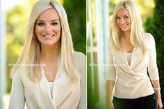 Best-professional-business-headshots-in-Seattle-of-blonde-woman-smiling-in-cream-sweater-and-black-pants_Studio-B-Portraits-Issaquah