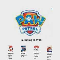Paw Patrol is coming to Avon! Yaaaayy! Stay tune for more details. #pawpatrol #nickjr #avon #comingsoon #avonlady