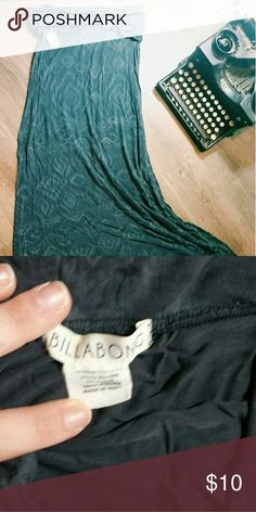 Maxi skirt Cute womens piece! In great condition! Billabong Skirts Maxi