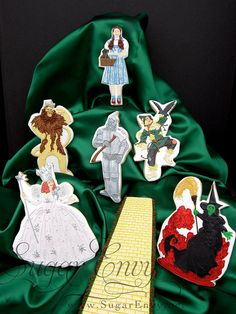 Wizard of Oz Decorated Cookies