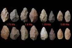 Ancient stone tools show the pace of remarkable technological enhancements over time