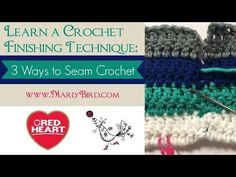 Proud Spokesperson for Red Heart Yarns, Crochet and Knitwear Designer Marly Bird offers her vast knowledge about Crochet on the Marly Bird YouTube channel. W...
