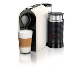The Nespresso UMilk is a fabulous gift for friends and family this holiday season. It is the newest addition to the Nespresso machine line and allows users to easily make café quality Cappuccinos and Lattes at home with the touch of a button.