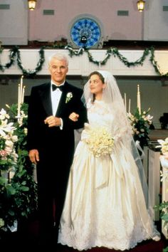 Don't you just love Father of the Bride - a classic wedding movie!