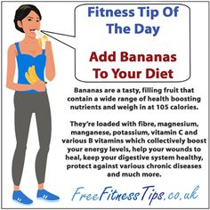 I eat bananas EVERY day !   For more health and fitness info check out >http://www.insearch4success.com/category/fitness-success/