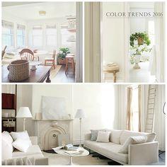 Color trend: White #interiordesign