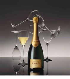 'Luxury is meant for sharing' and for its latest venture, theHouse of Krug has teamed with wine glass manufacturerRiedel to launch a champagne sharing gift set, housing a bottle of Krug Grand Cuvee Brut and two specially designed glasses.