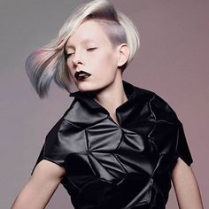 From the #Goldwell D!SRUPT Collection, inspiration for Color Zoom 2016. #daretodisrupt