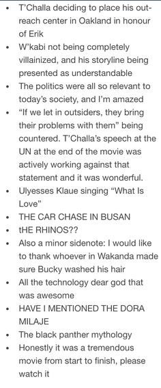 Awesome stuff about Black Panther - 2/2