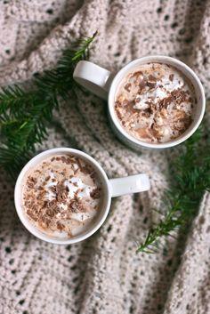 Amaretto Spiked Hot Chocolate