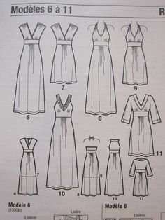 See img A for DIY maxi dress idea. Add a tied empire waist and pockets? See img A for DIY maxi dress idea. Add a tied empire waist and pockets? Diy Clothing, Sewing Clothes, Clothing Patterns, Sewing Patterns, Barbie Clothes, Sewing Hacks, Sewing Tutorials, Sewing Projects, Sewing Diy