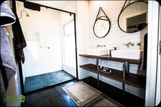 Green Homes, Mirror, Bathroom, Furniture, Home Decor, Washroom, Decoration Home, Room Decor, Mirrors