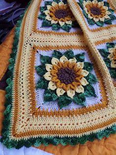 Ravelry: ruthl's Sunflower Afghan