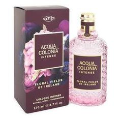4711 Acqua Colonia Floral Fields Of Ireland Eau De Cologne Intense Spray (Unisex) By Maurer & Wirtz Popular Perfumes, Discount Perfume, Cologne Spray, Perfume Reviews, After Shave, Perfume Bottles, Orange Blossom, Fields, Ireland