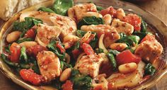 Tuscan Chicken Stew: Has Italian inspirations including basil, fennel and minced garlic.