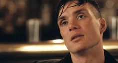 Tommy Shelby blinking. Just that. Cillian Murphy.