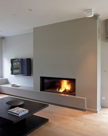 Perfect Modern WoodBurning Fireplace Inserts 334 x 577 · 24 kB · jpeg Home Fireplace, Modern Fireplace, Living Room With Fireplace, Fireplace Design, Gas Fireplaces, Living Room Tv, Home And Living, Wood Burning Fireplace Inserts, Family Room
