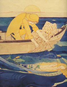 Jessie M King - illustration fairytale mermaid