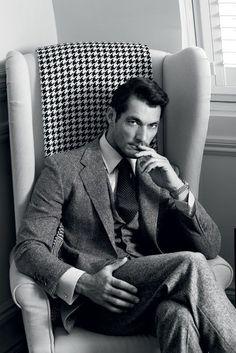 David Gandy Gq Style, Classic Style, Gq Mens Style, David Gandy Style, David James Gandy, David Gandy Suit, Dapper Gentleman, Gentleman Style, Modern Gentleman