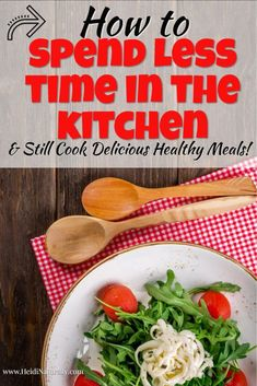 Find out how to spend less time cooking and more time enjoying your family. Learn the simple steps and cooking ideas you can use to make cooking easy again. Homemade Baby Foods, Organization Hacks, Simple Way, Homemaking, Cooking Tips, Meal Planning, Healthy Living, Easy Meals, Nutrition