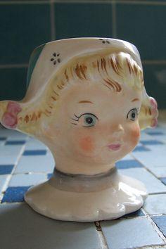 Dutch Girl Egg Cup