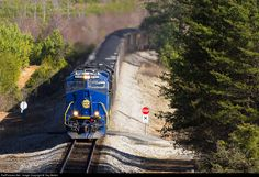 RailPictures.Net Photo: NS 8103 Norfolk Southern GE ES44AC at Stoneville, North Carolina by Trey Belton