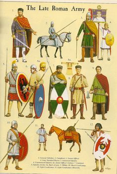Stilicho and the soldiers of the later Roman Empire