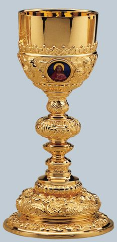 Baroque Chalice by Artistic Silver - Holy Family in Baroque style $11,995 http://henningers.com/chalice-2502.html