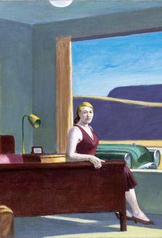 Edward Hopper, Western Motel Detail on ArtStack #edward-hopper #art