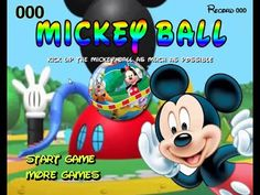 Mickey Mouse Clubhouse (2015) Full Episodes - Mickey Ball - Disney Jr. Games