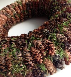 Advent Wreath Winter Wreath Christmas Wreath by CadeauDeLaNature
