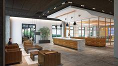 modern student lounge | Shubin + Donaldson: GK LOUNGE/RENDERINGS