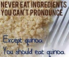 Than eat the best, which is Thrive Quinoa! Highest quality standards in the food industry. Nutrition And Dietetics, Fitness Nutrition, Fitness Humor, Gym Humor, Fitness Quotes, Quinoa Nutrition, Quinoa Protein, Holistic Nutrition, Fitness Motivation