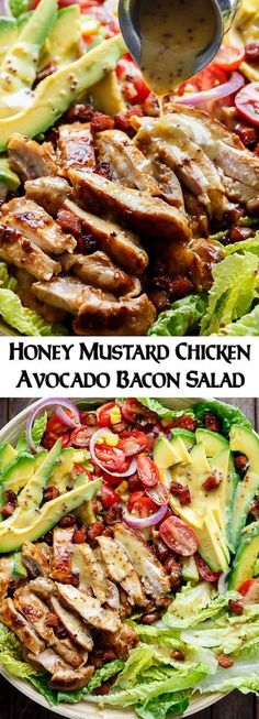 Mustard vinaigrettes are a healthy way to add flavor to salads!