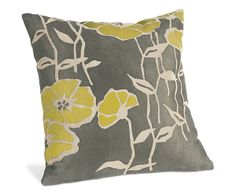 Poppy Citron Pillow - Pillows - Accessories - Room & Board