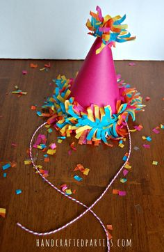 DIY-festooning-party-hat_Handcrafted-Parties