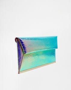 New Look Mermaid Clutch Bag