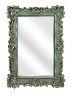 The Sophia Wall Mirror is a traditional mirror that features flirty flourishes that dance around the frame. Whether you hang this classic mirror in your entrywa