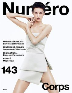 Marte Mei Van Haaster Covers Numéro #143 in Prada | Fashion Gone Rogue: The Latest in Editorials and Campaigns